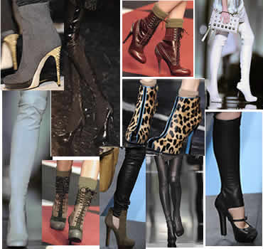 Fall 2009 Runway Shoes Collage