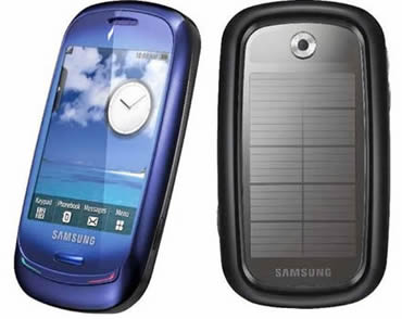 Solar Powered Phones, Next Top Fashion Phones!