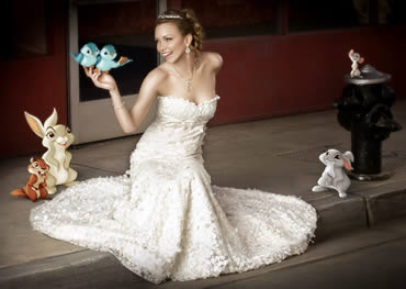 Fairytale Disney Wedding Dresses Come to Life!