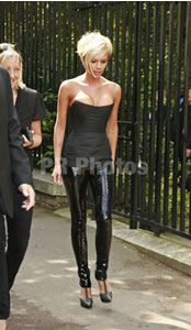 Victoria Beckham on Liquid Leggings