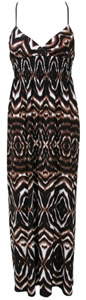 Tribal Maxi Summer Dress
