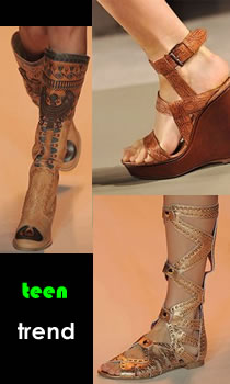 teen shoe trends