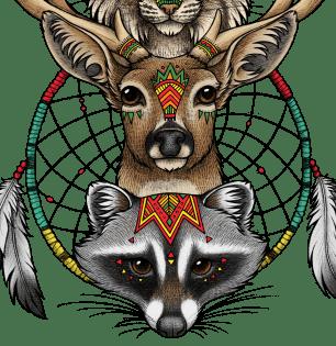 Totem  Lyndsey Green Illustration