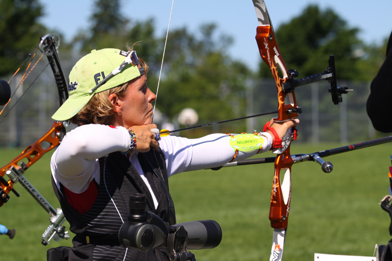 Lyne Tremblay archère