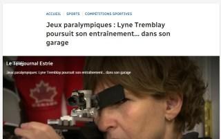 Lyne Tremblay - Reportage de Jean Arel Radio Canada