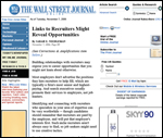 Corporate Seminar Speaker - Lynette Lewis in Wall Street Journal