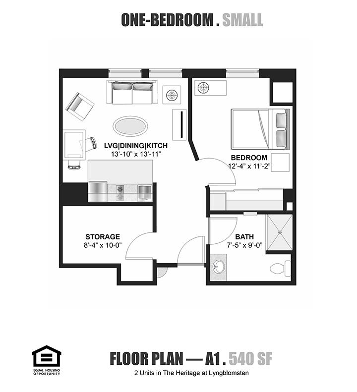 Lyngblomsten :: Features / Floor Plans