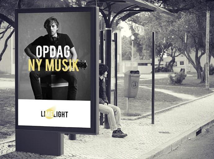 Limelight Music appdesign