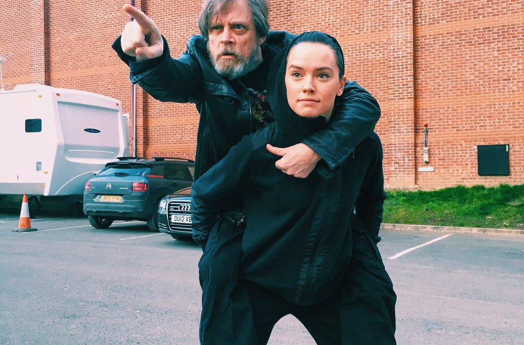 Rey Getting Traditional Jedi Knight Training