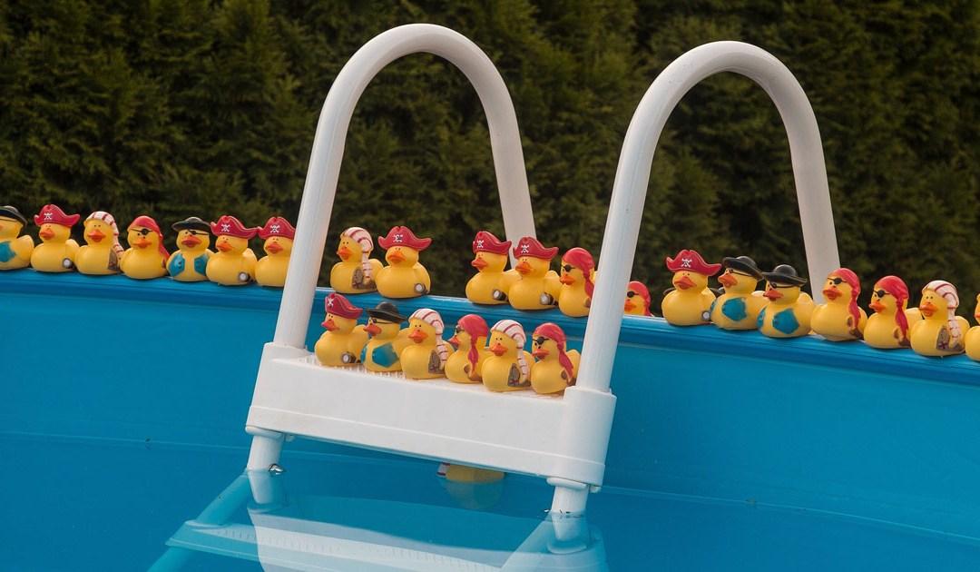 Pool Toy Descriptions or Tinder Profile Taglines