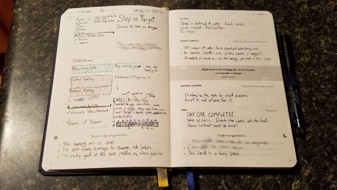 SELF Journal Day 1