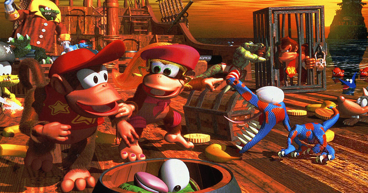 Donkey Kong Country 2: Diddy's Kong Quest (SNES – 1995)