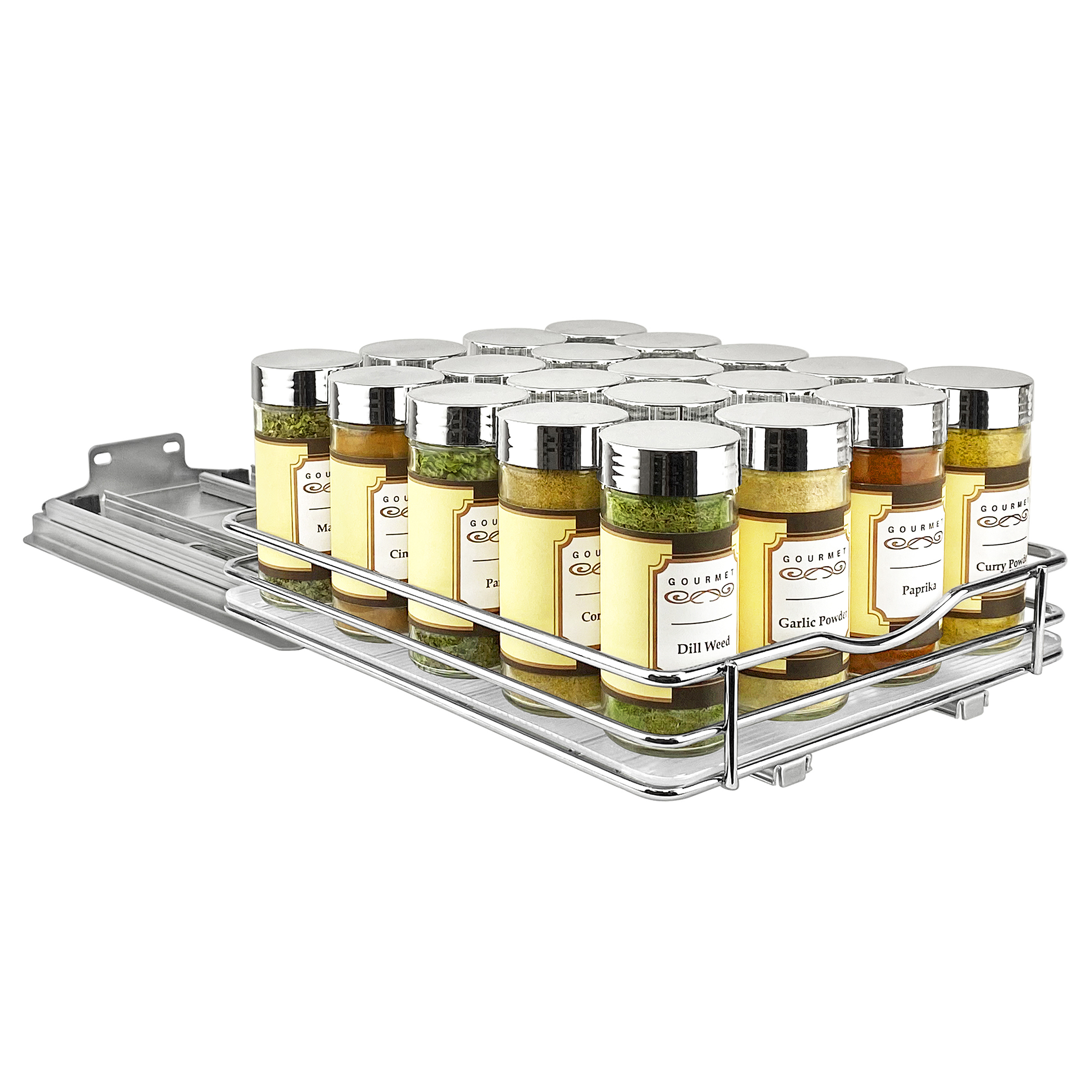430721 professional slide out spice organizer