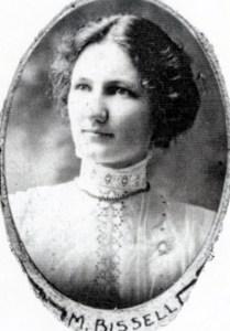 Seeleys Sch Teacher Mary Bissell 1916 SF12#18