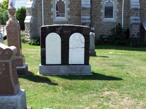James Hudson d April 27 1884 and Margaret Hudson d Aug 4 1887 (1)