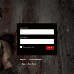 Tyler Mane login page