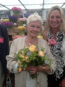 Dame Judi Dench and Lynne Allbutt