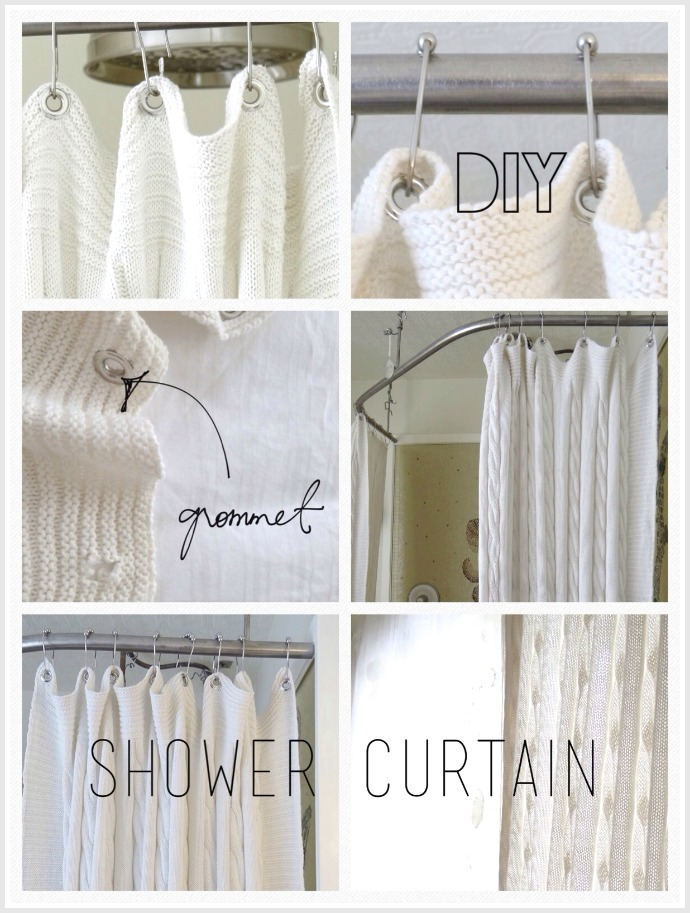 BATHROOM SHOWER CURTAIN This DIY Will Make Your Breasts Larger