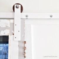 Barn door track hardware HOW TO