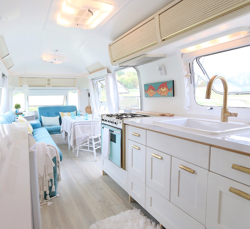 Vintage restored airstream photos