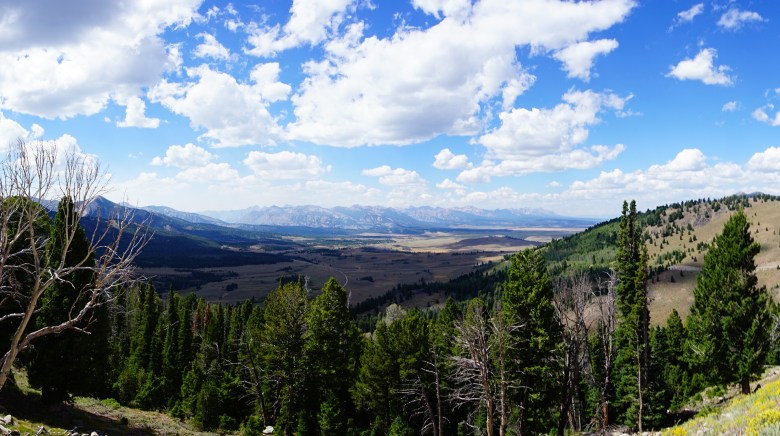 Smiley Creek Overlook in Idaho