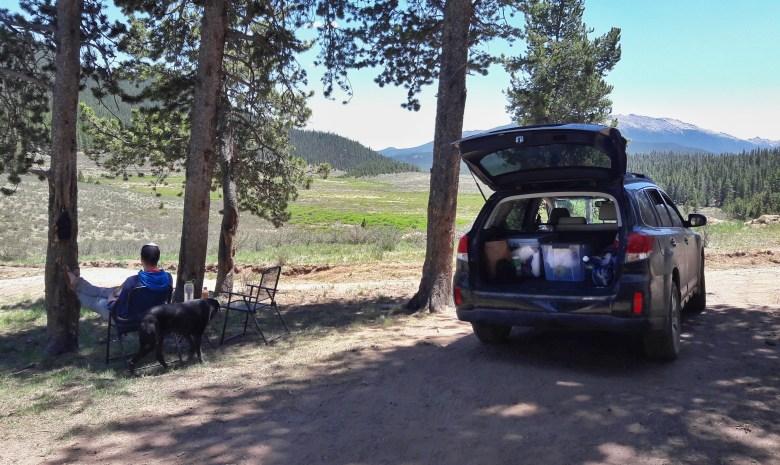 Car camping // lynnepetre.com