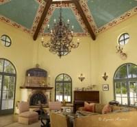 The Ornamentalist: Italian Hexagonal Ceiling