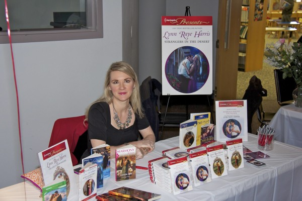 Lynn Raye Harris at HSV Library
