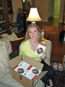 My first author copies