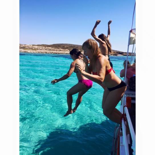 Terje jumping