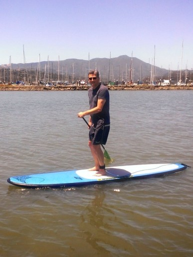 Alex SUPing!