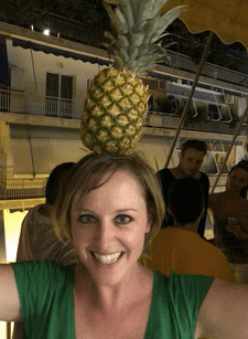 cassie and the pineapple