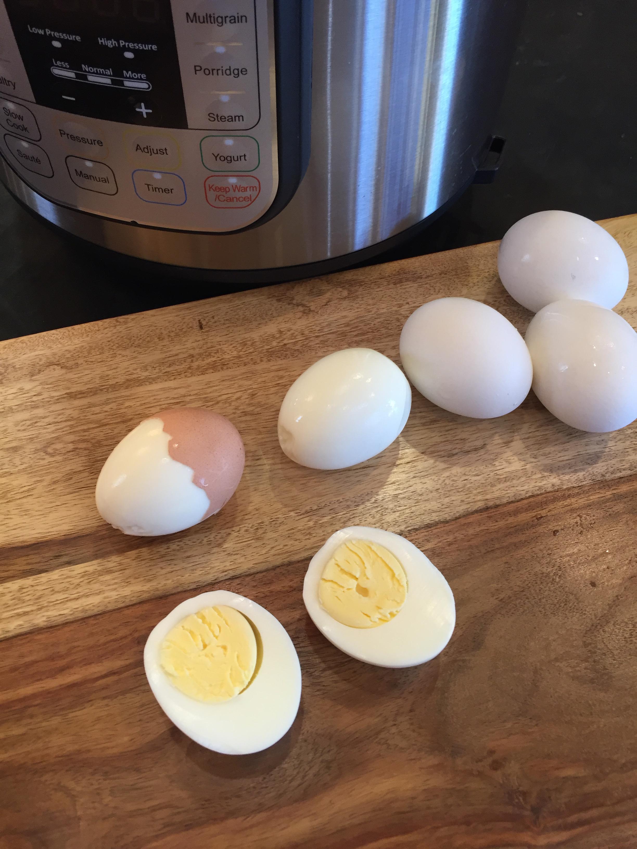 kitchen breakfast table modern decor instant pot hard boiled eggs - lynn's adventures