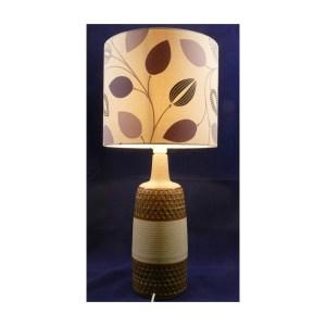 Handmade Soholm Lamp Base Lit
