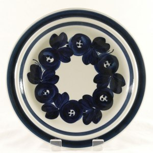Arabia Anemone Plate Front