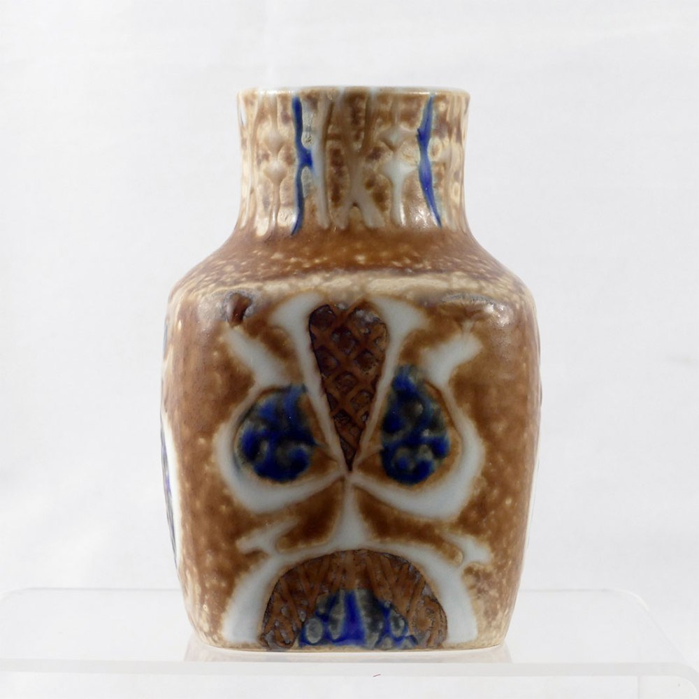 Royal Copenhagen Square Bottle Vase F2