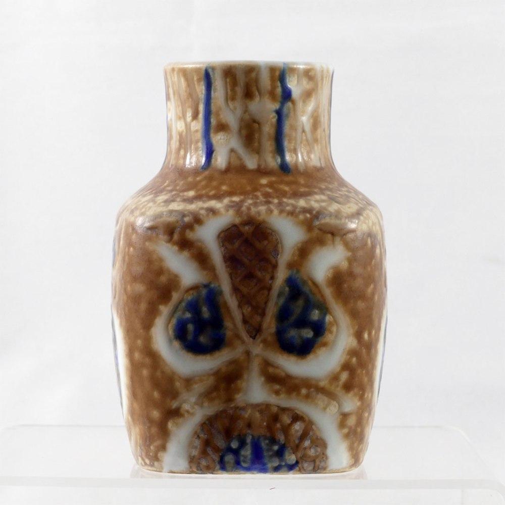 Royal Copenhagen Square Bottle Vase F4