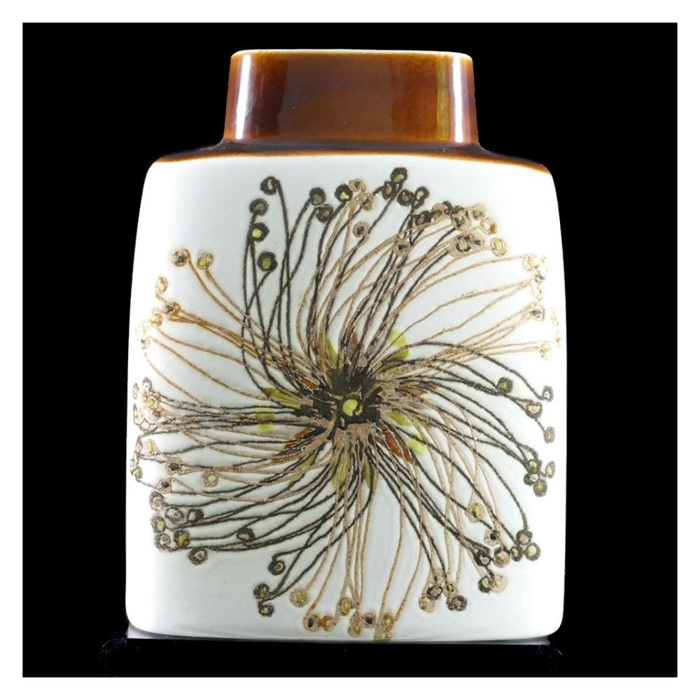 Royal Copenhagen Seedhead Pillow Vase F2
