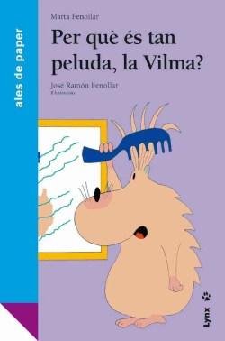 Per què és tan peluda, la Vilma? book cover image