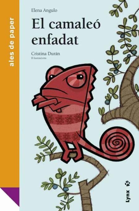 El camaleó enfadat book cover image