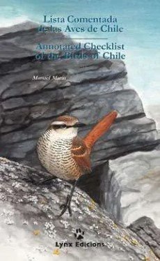 Lista Comentada de las Aves de Chile /Annotated  Checklist of the Birds of Chile book cover image