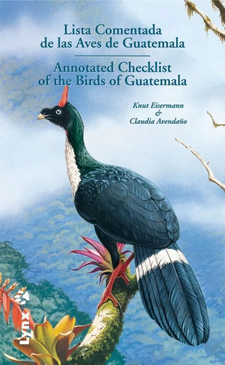 Lista Comentada de las Aves de Guatemala book cover image