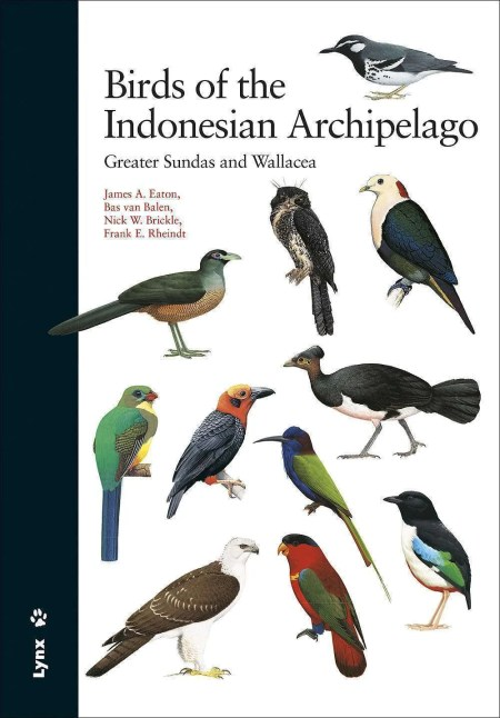 Birds of the Indonesian Archipelago book cover image