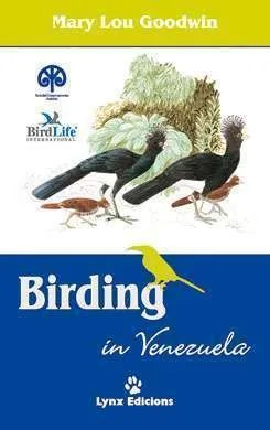 Birding in Venezuela book cover image