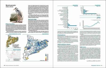 Atles dels ocells de Catalunya a l'Hivern 2006-2009 sample page