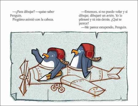 Pingüino y Penguin sample page