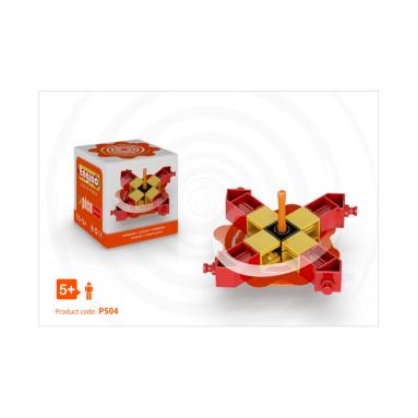 obal a model engino pico spinner oranžový