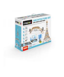 obal stem architektúra: eiffelova veža a most v Sydney