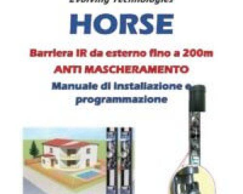 HORSE – Manuale di installazione e programmazione