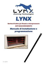 LYNX – Manuale di installazione e programmazione